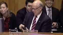 La sonnerie de portable embarrassante d'un sénateur