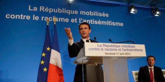 Plan racisme et antisémitisme: Valls débloque 100 millions d'euros sur trois