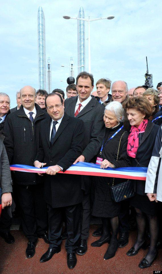 PHOTOS. VIDÉO. François Hollande inaugure le pont Jacques Chaban-Delmas à