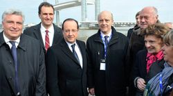 Hollande inaugure