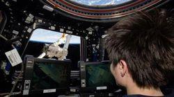 Les astronautes de l'ISS ont reçu leur machine à