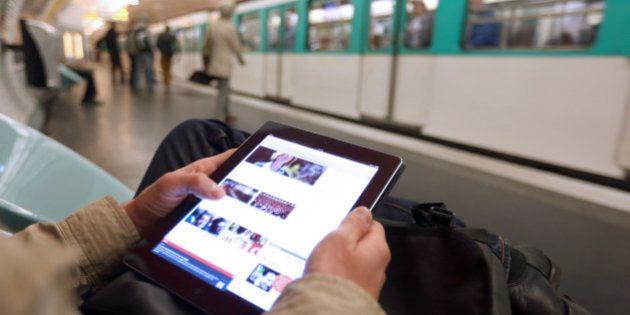 Métro de Paris: 3G et 4G à partir de