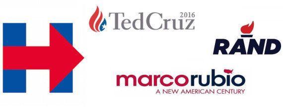 Élection présidentielle américaine en 2016: la guerre des logos est