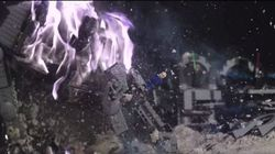 Ils font exploser un set de lego Star