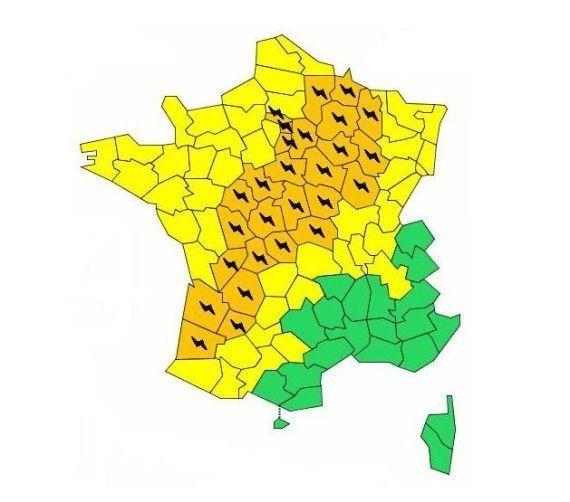 Nouvelle journée de chaleur sur l'ensemble du pays, trente départements en vigilance orange