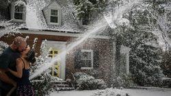 Il offre à sa femme le Noël sous la neige dont elle