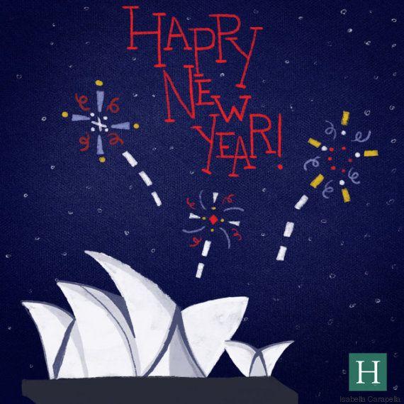 Bonne année 2016: Comment porter un toast au nouvel an dans 19
