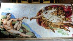La Chapelle Sixtine reproduite... en