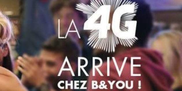 4G chez B&YOU: Bouygues étend le très haut débit à sa filiale low