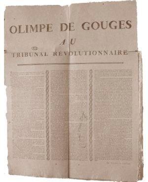 Olympe de Gouges au