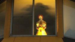 Ce Ronald McDonald effrayant vaut le