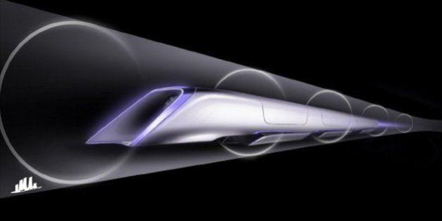 Hyperloop, le projet du train qui atteindra 1200 km/h est sur les