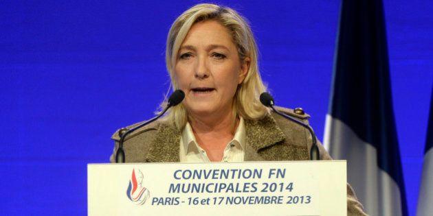 Extrême droite: Marine Le Pen demande l'interdiction d'une liste à