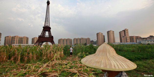PHOTOS. Tiandu Cheng, un Paris artificiel en