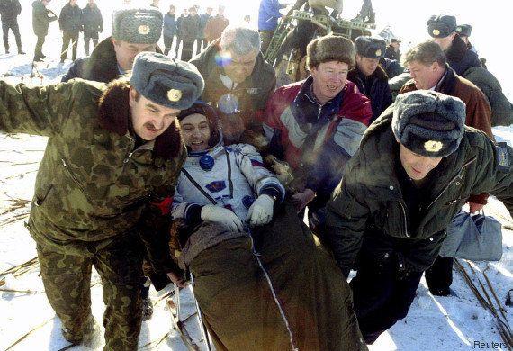 Cobaye d'une expérience historique à bord de l'ISS, Scott Kelly est de retour sur