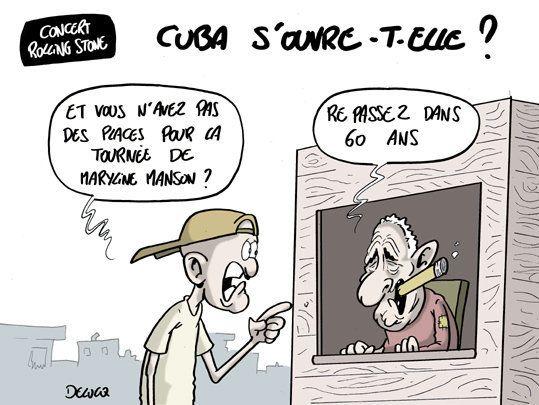 Concert des Rolling Stones: Cuba