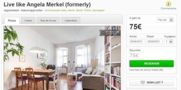 PHOTOS. Dans la peau d'Angela Merkel: son ancien appartement à Berlin est disponible à la location sur