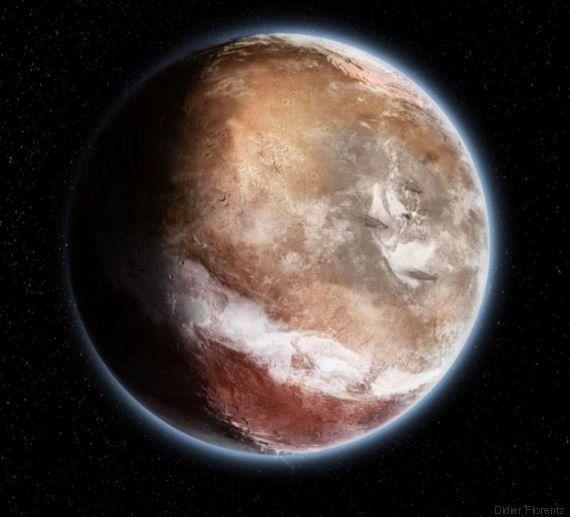 PHOTOS. À quoi ressemblait Mars il y a 4 milliards
