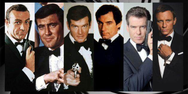 James Bond: le visage de 007 modelé avec tous les acteurs qui l'ont