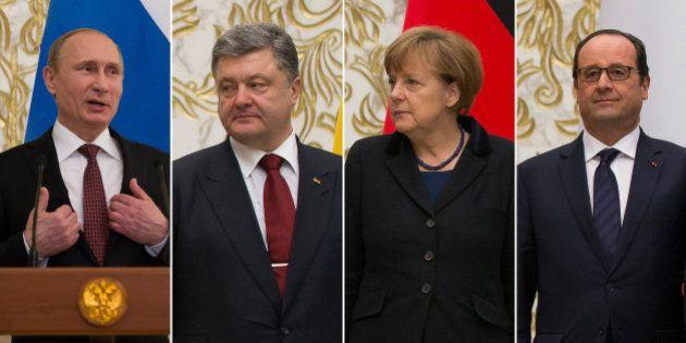 Ukraine / Russie : L'accord signé à Minsk ne fait pas du tout le même effet à chaque chef