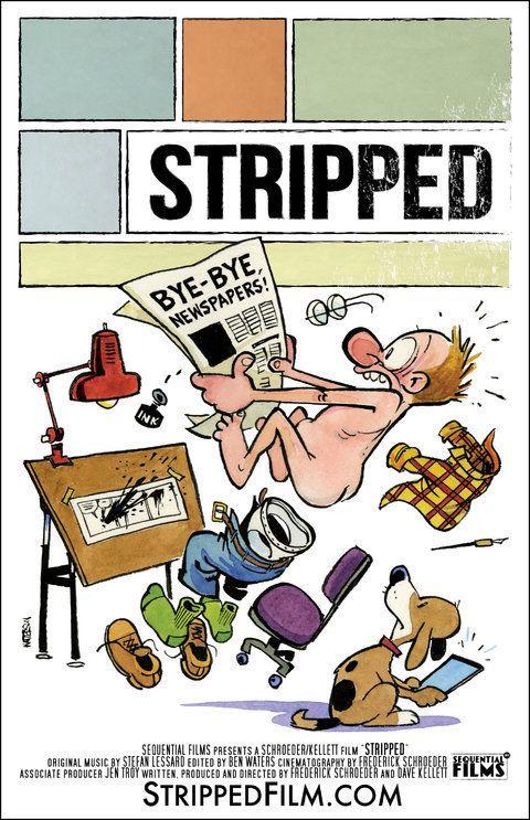 PHOTO. Calvin & Hobbes: Bill Watterson a dessiné l'affiche du documentaire
