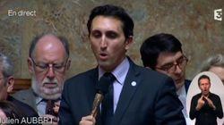 Hollande chasseur d'écolos, l'image d'un député qui fait rire toute