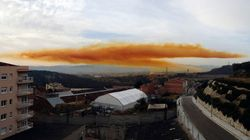 Une explosion provoque un gigantesque nuage toxique en