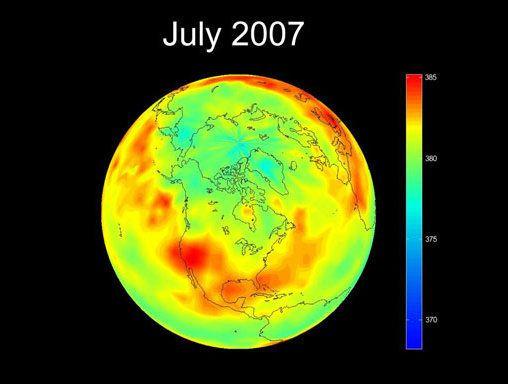 PHOTOS. Journée de la Terre: la Nasa montre notre planète transformée par le réchauffement