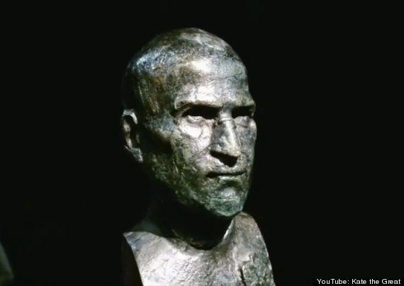 VIDÉO. Cette statue en mémoire de Steve Jobs sera installée à