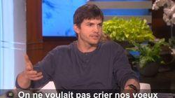 Ashton Kutcher raconte son mariage secret avec Mila