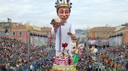 Le carnaval de Nice sous haute
