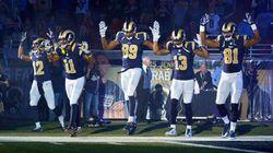 Ferguson : la police de Saint-Louis demande à la NFL de punir des joueurs après un geste de soutien à Michael