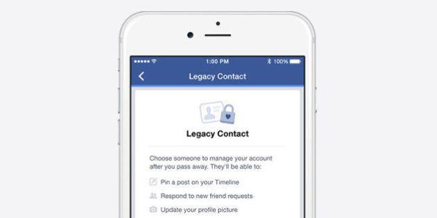 Facebook vous permet de désigner un héritier pour gérer votre compte après votre