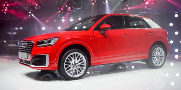 PHOTOS. Audi Q2, nouvelle DS3, Ferrari... les nouveautés du Salon international de l'automobile de Genève