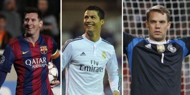 Fifa Ballon d'Or 2014: Lionel Messi, Cristiano Ronaldo et Manuel Neuer finalistes, ou l'année du choix