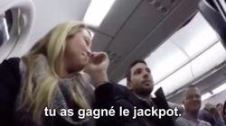 Le pilote de l'avion lui a annoncé une grande
