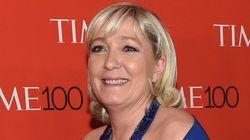 Marine Le Pen portait une robe de