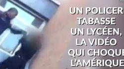 Un policier tabasse un lycéen, stupeur aux