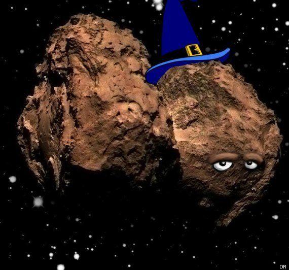PHOTOS. La comète