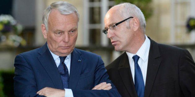 Roms: le ministre des Affaires européennes, Thierry Repentin, tacle la