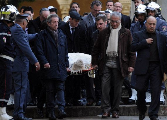 Roger Hanin inhumé à Alger dans
