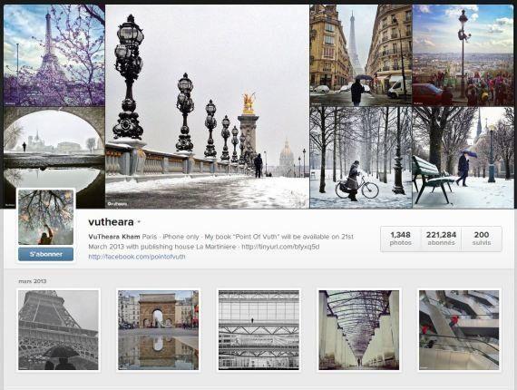 Les photos Instagram du Français VuThéara Kham publiées dans
