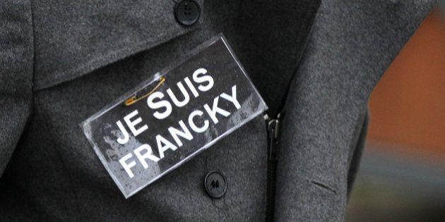 Charlie Hebdo : l'épouse du policier Franck Brinsolaro, qui assurait la protection de Charb, porte