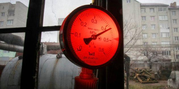 Ukraine: le gaz russe peut faire exploser le pays dès