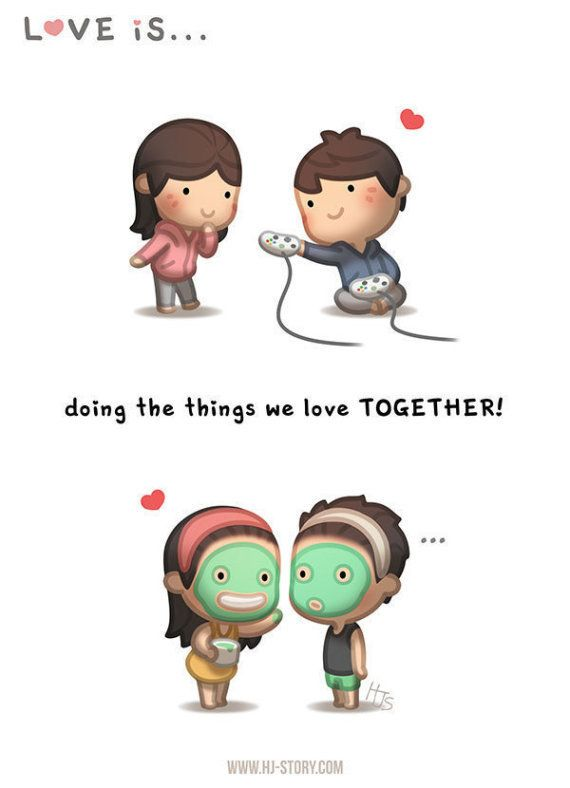 Pour exprimer son amour au quotidien, il envoie ces petits dessins à son