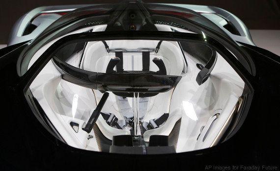 Faraday Future, la mystérieuse startup qui rivalise avec les voitures électriques Tesla au CES