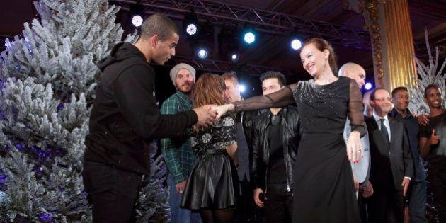 VIDÉO. Brahim Zaïbat danse avec Valérie Trierweiler et pose avec François Hollande à