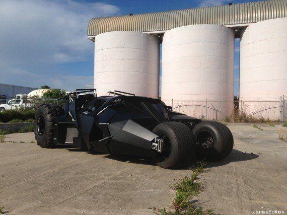 PHOTOS. Vous pouvez acheter cette Batmobile pour un million de