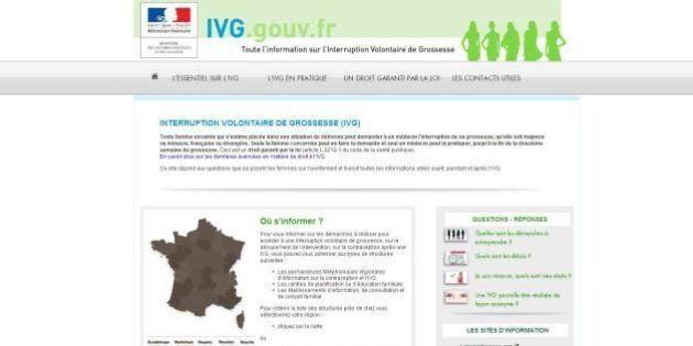 IVG: le gouvernement lance son site pour contrer les