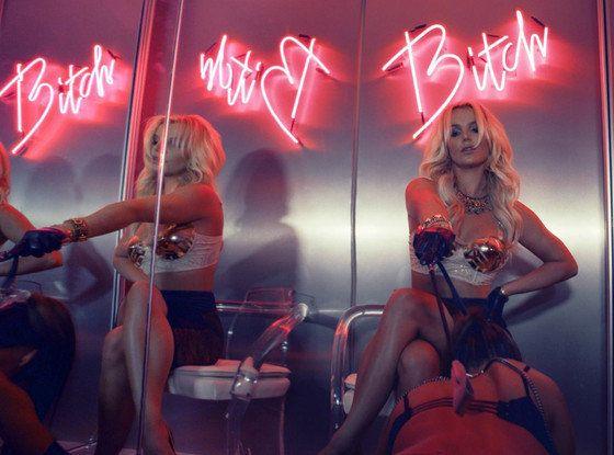 Britney Spears dans le désert pour les premières images de son clip